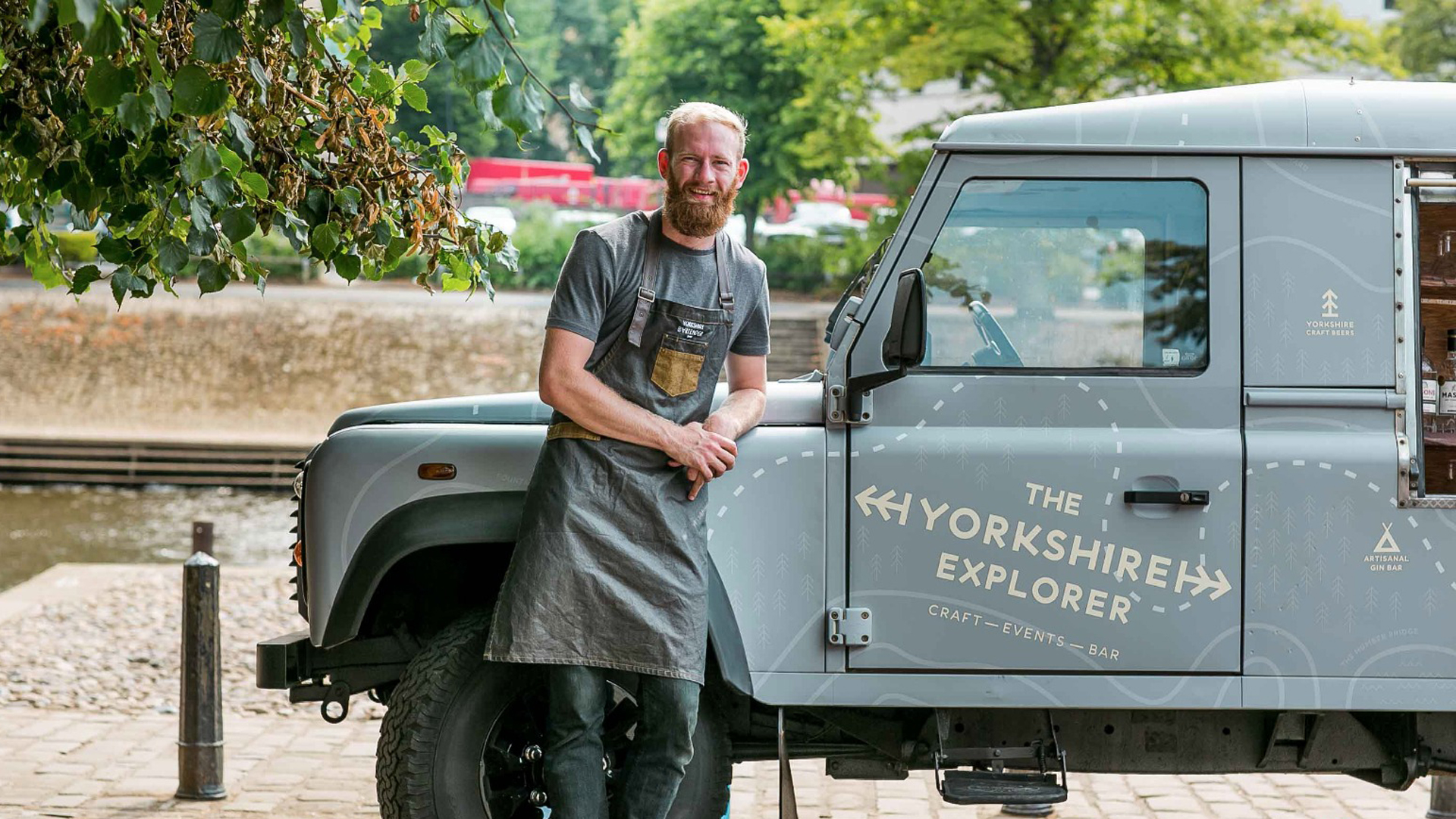 Yorkshire Explorer vehicle wrap Design